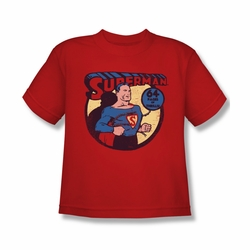 DC Comics youth teen t-shirt Superman 64 Pages of Thrills red
