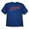 DC Comics youth teen t-shirt The Atom royal