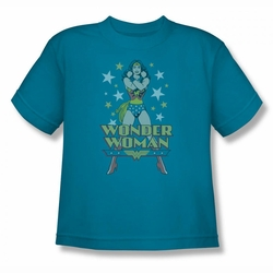 DC Comics youth teen t-shirt Wonder Woman A Wonder turquoise