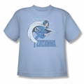 DC Comics youth teen t-shirt Zatanna light blue