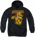 DC Comics youth teen hoodie Firestorm black