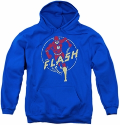 DC Comics youth teen hoodie Flash Comics royal blue