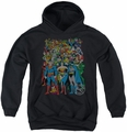 DC Comics youth teen hoodie Original Universe black