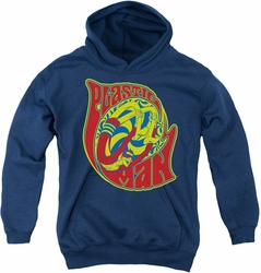 DC Comics youth teen hoodie Plastic Man How I Roll navy
