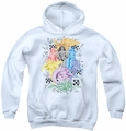 DC Comics youth teen hoodie Super Women white