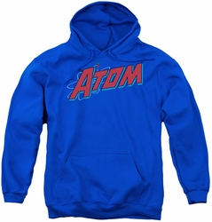 DC Comics youth teen hoodie The Atom royal blue