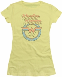 DC Originals juniors t-shirt Faded Wonder banana