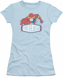 DC Originals juniors t-shirt Flash Sign light blue