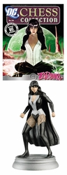 Dc Superhero Chess Figure Coll Magazine #59 Zatanna White Pawn