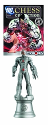Dc Superhero Chess Figure Collection Magazine #58 Cyborg White Rook
