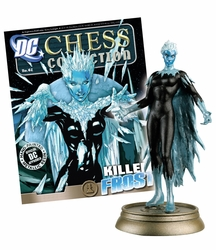 Dc Superhero Chess Figurine Collection Magazine #62 Killer Frost Black Pawn