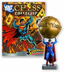 Dc Superhero Chess Figurine Collection Magazine Special Superman Daily Plane