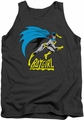 Batgirl tank top Is Hot mens charcoal