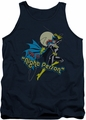 DC Universe tank top Batgirl Night Person mens navy