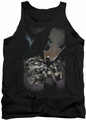 DC Universe tank top Batman #1 mens black
