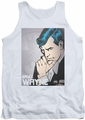 DC Universe tank top Batman Bruce Wayne mens white