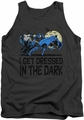 DC Universe tank top Batman Get Dressed mens charcoal