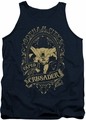 DC Universe tank top Batman Gotham Crusader mens navy