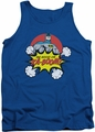 DC Universe tank top Batman Kaboom mens royal