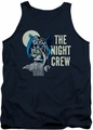 DC Universe tank top Batman Night Crew mens navy