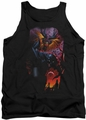DC Universe tank top Batman & Robin #1 mens black