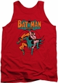 DC Universe tank top Batman & Robin Starling Shock mens red