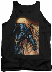 DC Universe tank top Batman The Dark Knight #1 mens black