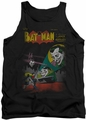 DC Universe tank top Batman Wrong Signal mens black