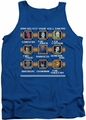 DC Universe tank top DC Comics Villains Stage Select mens royal