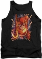 DC Universe tank top Flash #1 mens black
