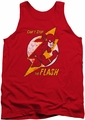 DC Universe tank top Flash Bolt mens red
