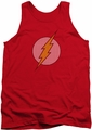 DC Universe tank top Flash Little Logos mens red