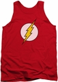 DC Universe tank top Flash Logo mens red