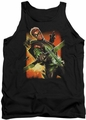 DC Universe tank top Green Arrow #1 mens black