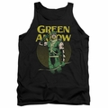 DC Universe tank top Green Arrow Pull mens black