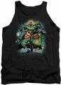 DC Universe tank top Green Lantern Corps NEW #1 mens black