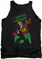DC Universe tank top Green Lantern First mens black
