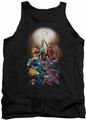 DC Universe tank top Green Lantern New Guardians #1 mens black