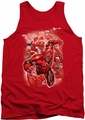 DC Universe tank top Green Lantern Red Lanterns #1 mens red