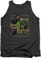 DC Universe tank top Green Lantern Ring Power mens charcoal