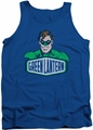 DC Universe tank top Green Lantern Sign mens royal