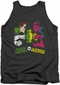 DC Universe tank top Green Lantern Vs Sinestro mens charcoal
