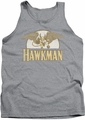 DC Universe tank top Hawkman Fly By mens heather