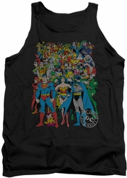 DC Universe tank top Justice League Original Universe mens black