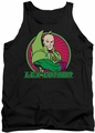 DC Universe tank top Lex Luthor mens black