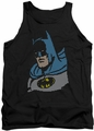 DC Universe tank top Lite Brite Batman mens black