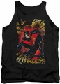 DC Universe tank top Nightwing #1 mens black
