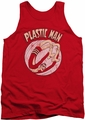DC Universe tank top Plastic Man Bounce mens red