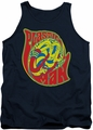 DC Universe tank top Plastic Man How I Roll mens navy