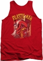 DC Universe tank top Plastic Man Street mens red